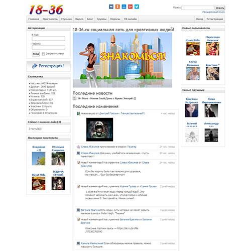 Сайт 18-36